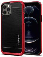 Чохол Spigen для iPhone 12 / iPhone 12 Pro - Neo Hybrid, RED (ACS02255)