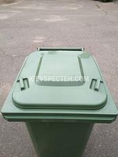 Євроконтейнер пластиковий, Weber V-240 л, зелений, фото 2