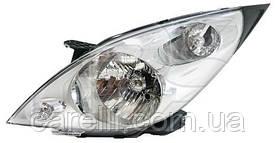 Фара права електро Н4 для Chevrolet Spark 2010-15