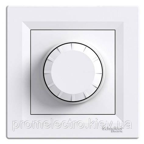 Диммер Schneider-Electric Asfora 40-600W поворотный белый (EPH6400121), фото 2