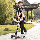 Самокат дитячий с двумя передними колесами, фото 2