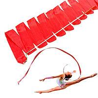 Лента для художественной гимнастики с палочкой, 6 метров