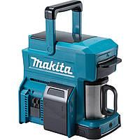 Кофеварка Makita DCM501 аккумуляторная, 12-14,4-18В, LXT/CXT, 250 mL, 225x186x217мм, 1,9кг (без АКБ)