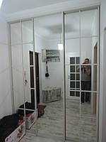 Большой шкаф-купе зеркальный, фото 1