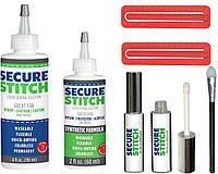 Набор клеев для натуральных и синтетических тканей универсальный клей для одежды Secure Stitch