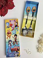 Набір дитячих столових приладів Міньйони