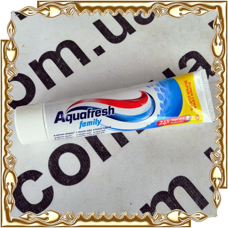 Зубна паста Aquafresh Family 100 мл