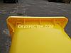 Євроконтейнер пластиковий, Weber V-240 л, жовтий, фото 4