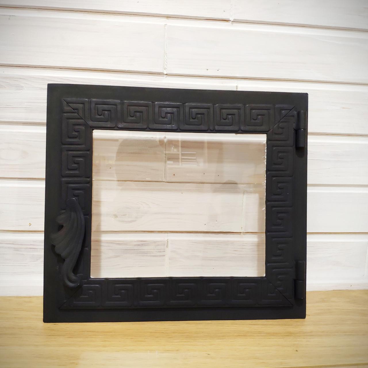 Дверца для печи Hetta Mia h310*350мм со стеклом +800С