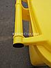 Євроконтейнер пластиковий, Weber V-240 л, жовтий, фото 6