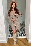Классическое короткое женское пальто Корси 9893