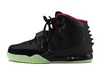 Кроссовки женские Nike Air Yeezy 2, кроссовки женские найк аир изи 2 черные