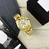 Часы мужские наручные механические с автоподзаводом Rolex Daytona Metal Automatic Gold-Whit реплика ААА класса, фото 6