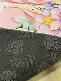 """Безкоштовна доставка! Килим в дитячу """"Єдиноріг у квітах на рожевому тлі""""(1.6*2.3 м), фото 4"""