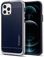 Чохол Spigen для iPhone 12 / iPhone 12 Pro - Neo Hybrid, Silver Satin (ACS02254)