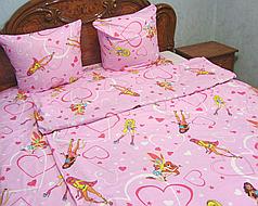 Детское полуторное постельное белье Клуб Winx Винкс