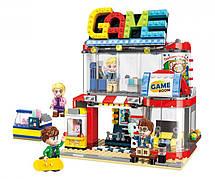 Конструктор Qman «Крутая игровая комната» Colorful City 461 деталей 1135