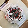 Яркие спортивные наручные часы Casio GA-110 White/Black/Red 6029