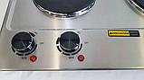 Плита электрическая 2 х конфорочная настольная KD-4047, фото 9