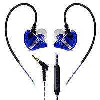 Сабвуфер бас спортивні навушники-вкладиші дріт управління навушники