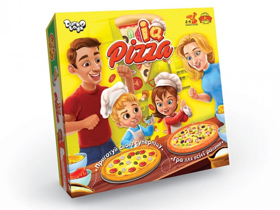 """Настольная игра """"IQ Pizza"""" укр. G-IP-01U"""