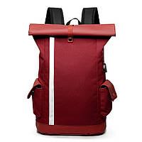 Сумка для ноутбука Багатофункціональний рюкзак з USB порт зарядки мішок школи мішок переміщення нейлону води
