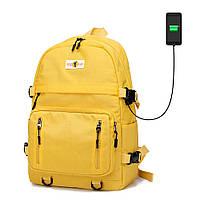 Эолида 18 дюймів рюкзаки ноутбук сумка зарядка USB жіночий жіночий мішок школи подорожі рюкзак для дівчаток