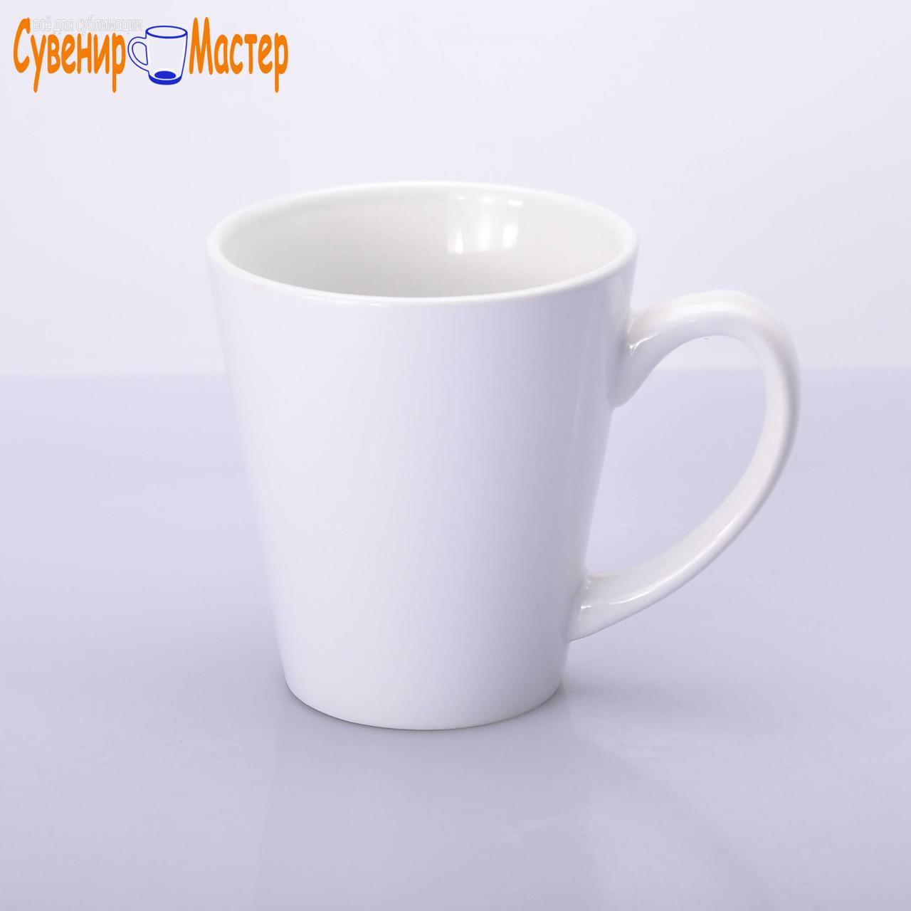 LATTE Чашка белая для сублимации 350 мл