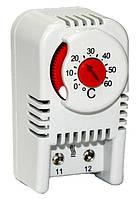 Термостат термореле регулятор температуры воздуха на DIN  рейку НЗ н3 контакт