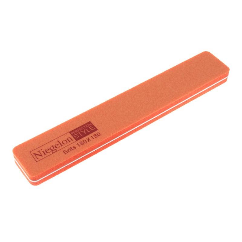 Полировщик для ногтей оранжевый 180/180 Niegelon