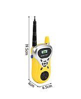 Интерактивная рация BLUEBEE для детей и родителей желтый 01776