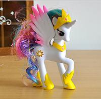 Фигурка Единорог My Little Pony лошадка Селестия 14 см 01846
