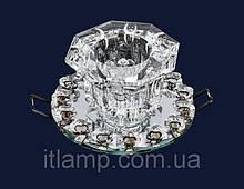 Точечные светильники врезные с плафоном Levistella 712A3524 SILVER/CL