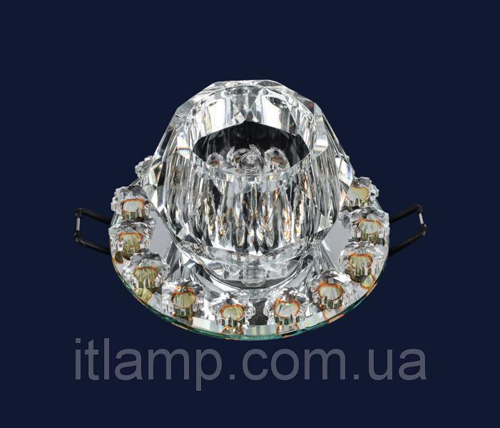 Точечные светильники врезные с плафоном Levistella 712A3527 SILVER/CL