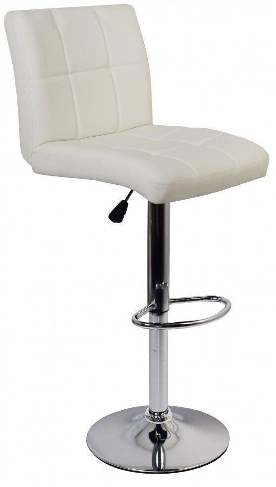 Барный стул Bonro BC-0106. Цвет белый