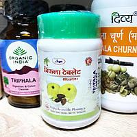 Тріфала в таблетках Унжчха, 60 таб., triphala tablets Unjha, очищення організму та покращення роботи шлунку,