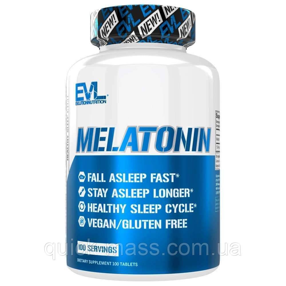 Мелатонин для сна EVL Melatonin 5mg 100tab