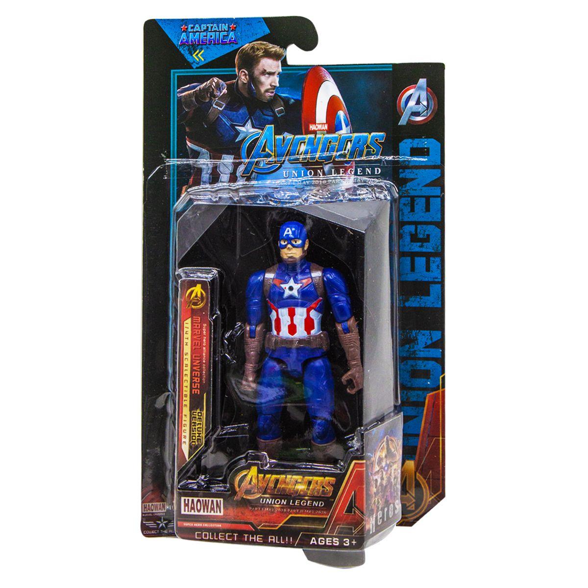 Фигурка герои Марвел (Avengers - Мстители) Капитан Америка 16см Captain America