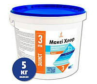 Таблетки для бассейна длительный хлор Макси Window World Water (таблетки по 200 г) 5 кг