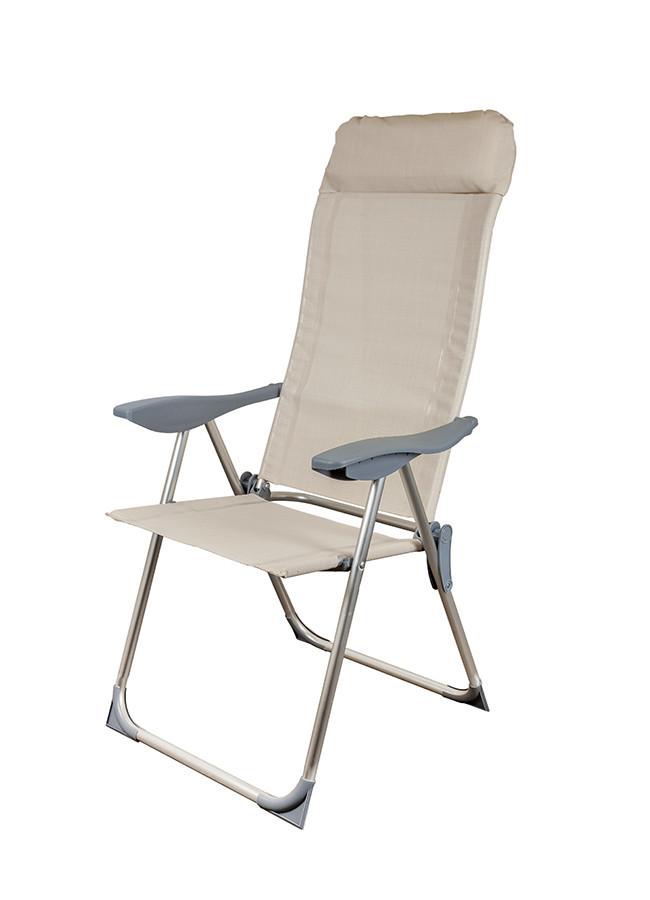 Стул кресло шезлонг складной для пикника отдыха пляжа дачи сада Levistella GP20022010 IVORY
