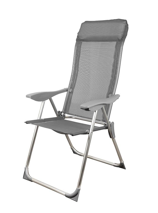Стул кресло шезлонг складной для пикника отдыха пляжа дачи сада Levistella GP20022010 GRAY