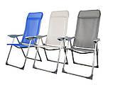 Стул кресло шезлонг складной для пикника отдыха пляжа дачи сада Levistella GP20022010 BLUE, фото 4