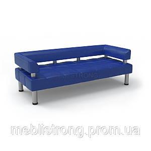Офисный диван в офис Стронг (MebliSTRONG) - синего цвета
