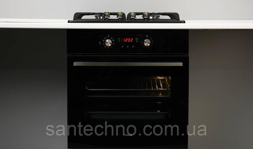 Духовой электрический шкаф Fabiano FBO 240 Lux Black Glass