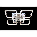 Светодиодные люстры Linisoln 5588-4+1 CH, фото 3