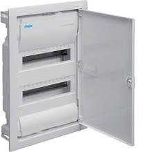 Hager Volta VU24UA. Щит на 24(28) модулей внутренней установки с металлической дверью
