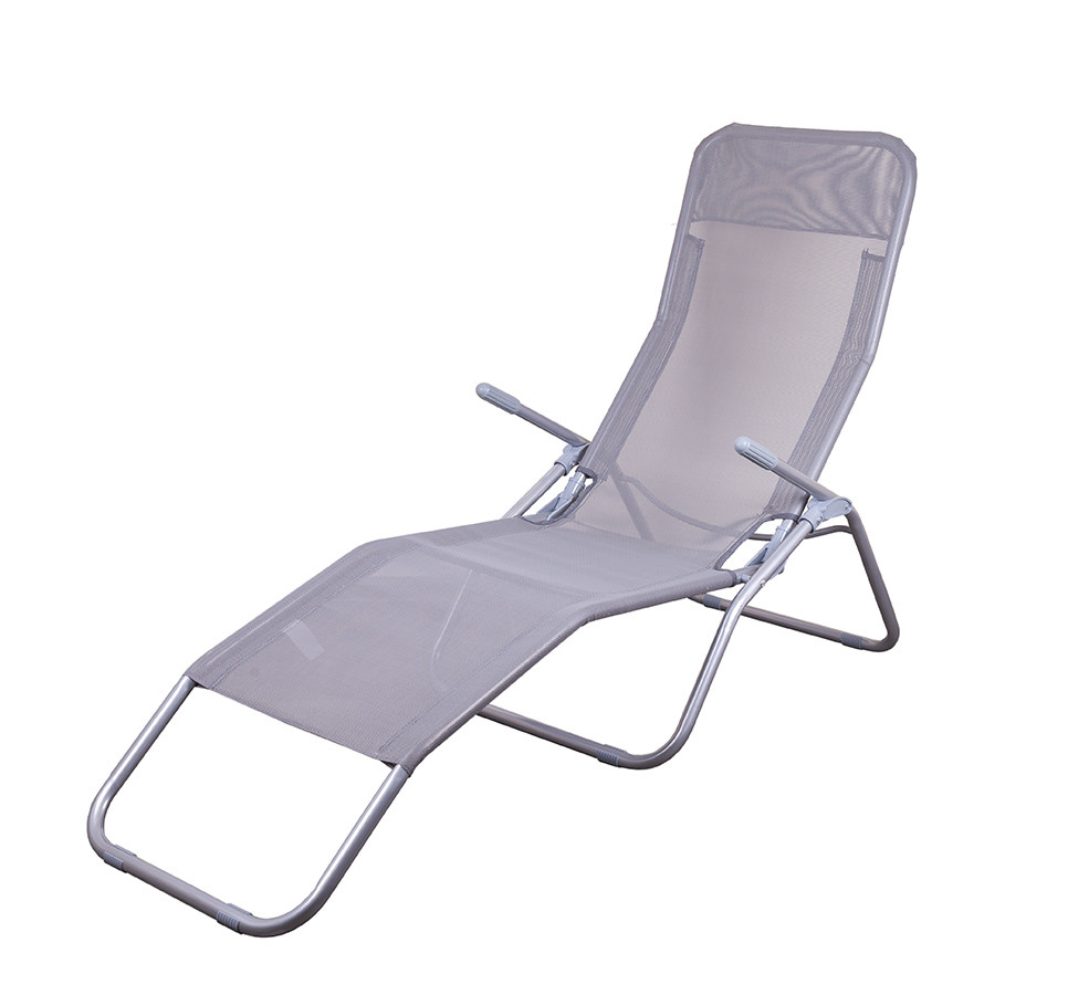 Стул кресло шезлонг складной для пикника отдыха пляжа дачи сада Levistella GP20022017 GRAY