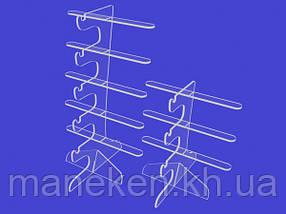 Підставка під окуляри 3 полиці(КРО-04-01)