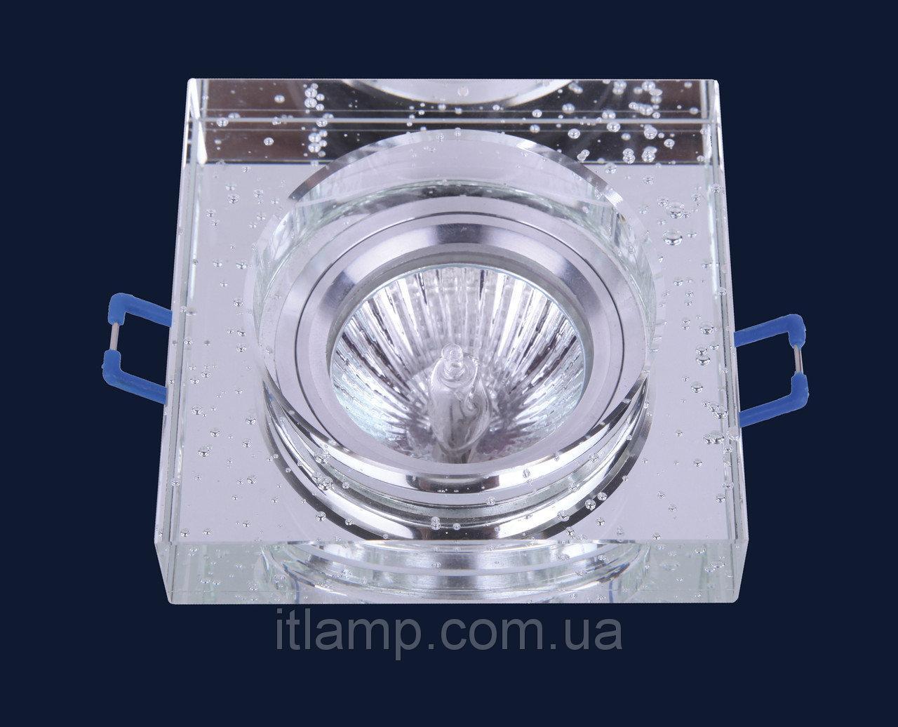 Врезной светильник со стеклом 705176