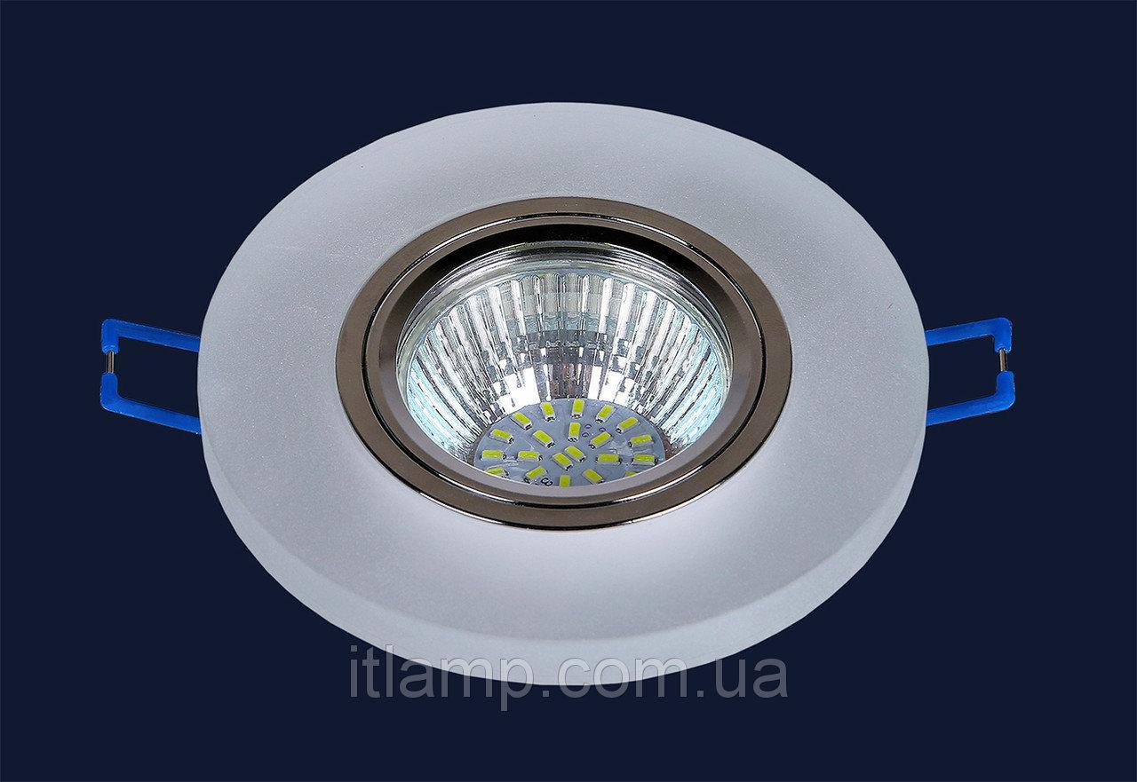Точечный светильник с матовым стеклом Levistella 716MKD016